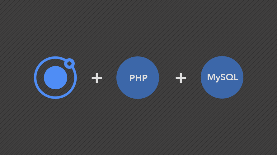 Integrating Php And Mysql With Ionic Apps