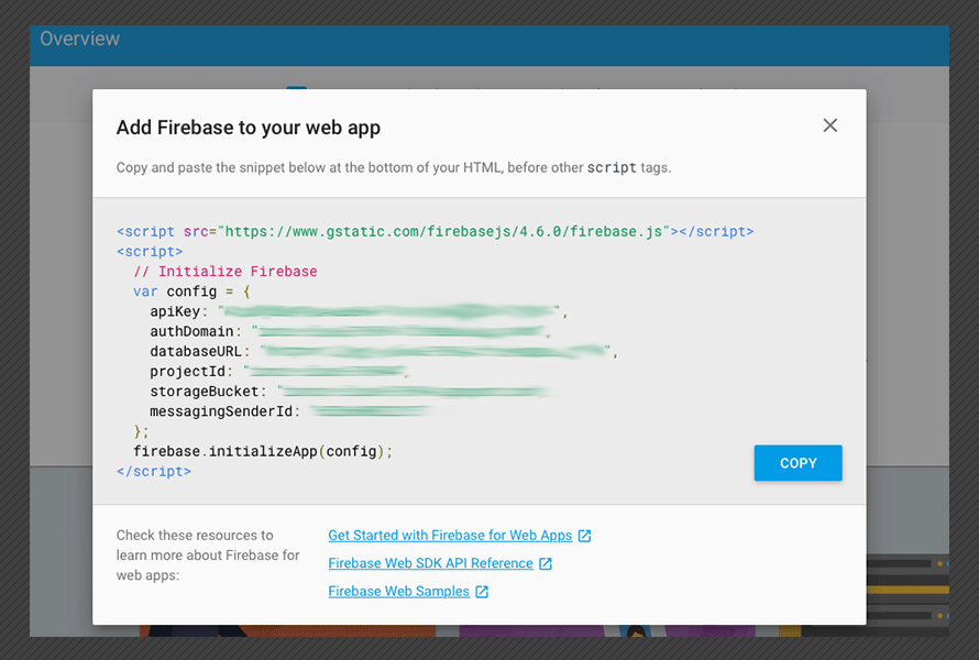 Create a firebase cloud firestore CRUD application with Ionic
