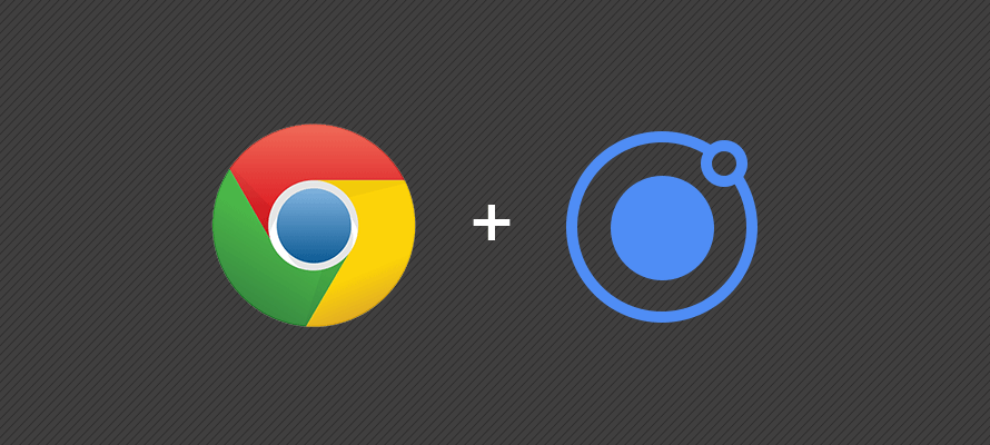 Debugging Ionic applications with Google Chrome