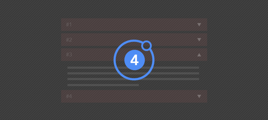 Creating a simple accordion widget in Ionic 4