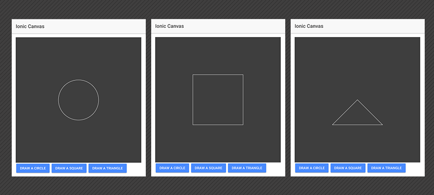 Implementing HTML5 canvas in Ionic