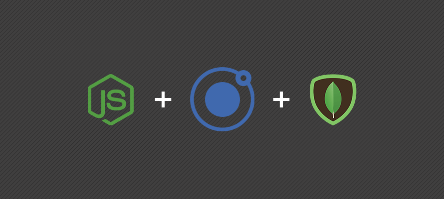 Creating a CRUD application with MongoDB, Express, Node & Ionic - part 1