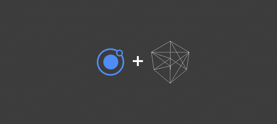 Creating WebGL animations within an Ionic application using ThreeJS