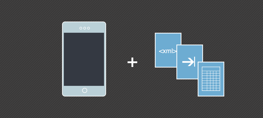 Parsing XML, CSV and TSV files with Ionic