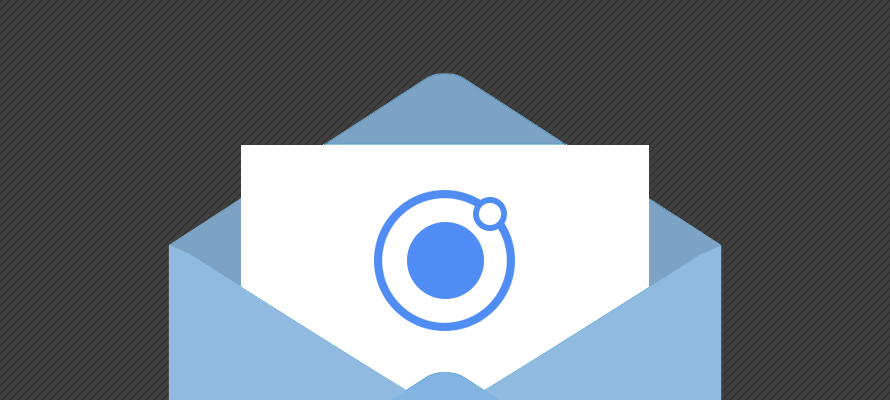 Adding email functionality to an Ionic application